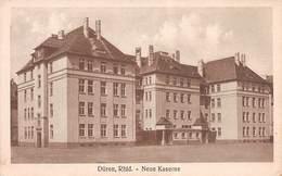 DUREN, RHLD - NEUE KASERNE ~ AN OLD POSTCARD - ARMY POST OFFICE 1919 POSTMARK WITH CENSOR MARK #9G13 - Düren