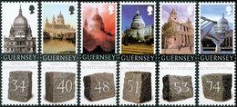 GUERNESEY Cathedrale St Paul 2008 6v Neuf ** MNH - Guernsey