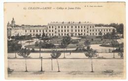 CHALON-SUR-SAONE Collège De Jeunes Filles - Chalon Sur Saone