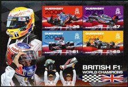 GUERNESEY Bloc Champions De F1 Anglais 2011 Neuf ** MNH - Guernsey