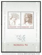 DENEMARKEN 1992 Blok Nordia 94 PF-MNH-NEUF - Danimarca
