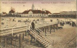 10021189 Swinemuende_Ostseebad_Westpommern Swinemuende Kurhaus Bruecke Feldpost - Polen