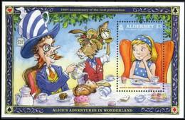 Alderney 2015 - 150e Anniversaire De La 1er Publication D'Alice Au Pays Des Merveilles / Alice In Wonderland** - Alderney