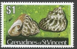 Grenadines Of St Vincent. 1974 Shells And Molluscs. $1 MH. (No Date Imprint) SG 50B - St.Vincent & Grenadines