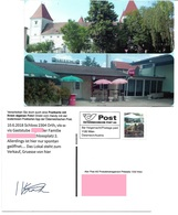 1540q: Privatganzsache AK Postkarten-App: A- 2304 Orth An Der Donau, Landgasthof - Gänserndorf