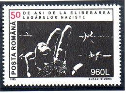 """(WK2-1) Rumänien, Sonderausgabe Mi 5070 """"50 Jahre KZ-Befreiung"""" ** Postfrisch - 1948-.... Repubbliche"""