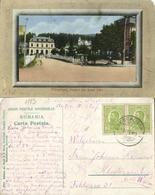Romania, PREDEAL, Brașov County, Vedere Din Dosul Gări (1913) Postcard - Roemenië
