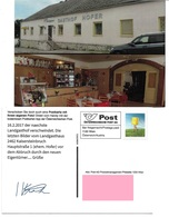 1540l: Privatganzsache AK Postkarten-App: A- 2462 Kaisersteinbruch, Der Abgerissene Gasthof Hofer - Bruck An Der Leitha