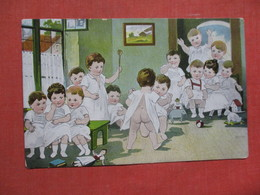 Babies Dancing ?        Ref 3753 - Humorous Cards