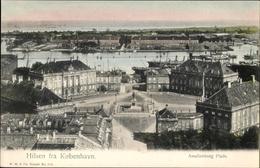 Cp København Kopenhagen Dänemark, Amalienborg Plads - Dänemark