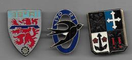 Lot De 3 Insignes Militaires - Insignes & Rubans
