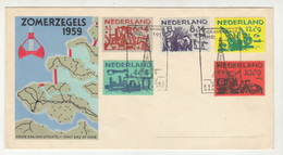 Zomerzegels 1959 FDC B191201 - FDC