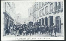 75 - Paris 14 - Au Planteur De Caiffa ,  Sortie Du Personnel Maca0102 - District 14
