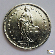 SWITZERLAND - 1 Franc - 1975 - Suiza