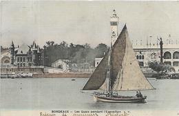 33, Gironde, BORDEAUX, Les Quais Pendant L'Exposition, Scan Recto-Verso - Bordeaux