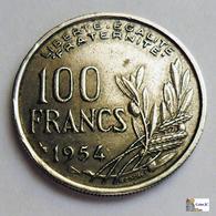 FRANCE - 100 Francs - 1954 - Sarre (1954 – 1955)