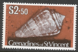 Grenadines Of St Vincent. 1974 Shells And Molluscs. $2.50 MH. SG 51A - St.Vincent & Grenadines