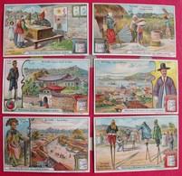 6 Chromo Liebig : En Corée; Séoul. 1904. S 766. Chromos. édition Française - Liebig