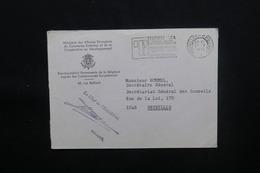 BELGIQUE - Enveloppe Du Ministère Des Affaires Etrangères Pour Bruxelles En 1975 En Franchise - L 48624 - Belgium