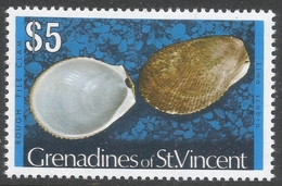 Grenadines Of St Vincent. 1974 Shells And Molluscs. $5 MH. SG 52A - St.Vincent & Grenadines