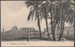 The Temple, Karnak, C.1920 - Lévy Et Neurdein CPA LL2 - Luxor