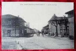 N°71) CPA DE SAINT-NIZIER-LE-BOUCHOUX-ENTREE DU PAYS - Francia