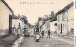 CPA 80 - CONDE FOLIE, Route D'Amiens Prolongee - France
