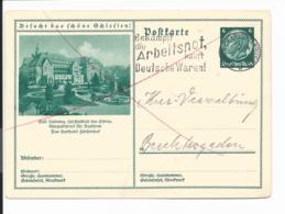 DR P 232 - 070 -  6 Pf Hindenburg Med. Grün, BiPo Bad Kudowa V. Charlottenburg N. Berchtesgaden Bedverw - Germania