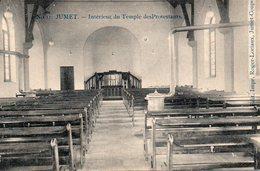 JUMET : Intérieur Du Temple Protestant - Charleroi