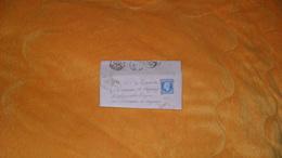 LETTRE ANCIENNE DE 1855.../ TAULIGNAN POUR LASSEUBE PROPRE AU CHATEAUX DE CAZAUX GERS ?..CACHETS + TIMBRE + OBLIT. A IDE - Postmark Collection (Covers)