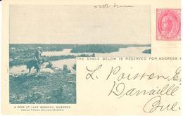Canada - Stationery - Grand Trunk Railway - Lake Rosseau - Dog - Stamps