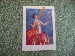 Réveillon Du Corset - Grd Bal 31 Décembre 1922 Hotel CONTINENTAL ( Haute Couture Beer Cheruit J. Lanvin  Worth  Autre - Old Paper