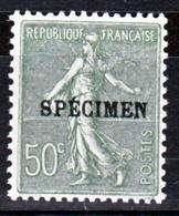 France 198-CI 2 Type Semeuse   Neuf ** TB MNH Sin Charnela Cote 37 - Cours D'Instruction