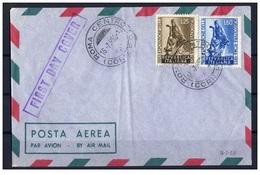 Italia (1953) - Esposizione Dell'Agricoltura FDC - F.D.C.