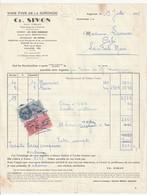 61 - Argentan - Vins Fins De La Gironde  -Ch. Simon Rue Du Point Du Jour Et 66 Rue Arristide Briand - Alimentos