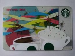 China Gift Cards, Starbucks,  200 RMB, 2015 (1pcs) - Gift Cards