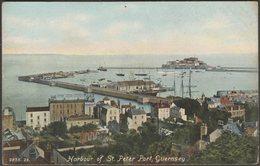 Harbour Of St Peter Port, Guernsey, C.1905-10 - Hartmann Postcard - Guernsey