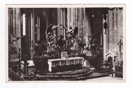 81 Gaillac VOIR DOS N°5 Intérieur Eglise St Michel Maître Autel VOIR DOS Edition Gezels Section Photo Aérienne 75 125 - Gaillac