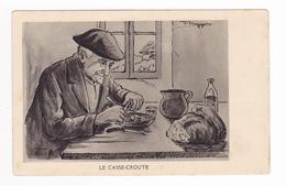 Types Basque Le Casse Croûte Illustrateur F. Huygen - Other Illustrators