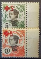 INDOCHINE 1914/15 - MNH - YT 66, 67 - 5c 10c - Usati