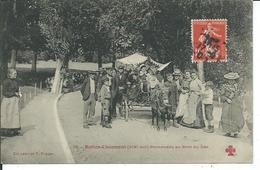Buttes-Chaumont- Promenade Au Bord Du Lac - Distrito: 19