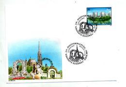Lettre Entiere Fdc 1995 Batiment - FDC