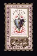 SIMBOLOGIA: JE CROIS EN DIEU - E - PR - Mm. 63 X 103 - Ed: L. Dopter, Parigi  - Nr. 429 - Cromolitografia - Religione & Esoterismo