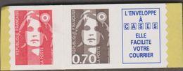 FRANCE MARIANNE DE BRIAT 1 T Xx N° YT 2874c - Provenant Des Carnets 1504-05 - 1989-96 Marianne Du Bicentenaire