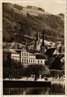 SUISSE - ZUG Mit Zugerberg - Carte Postée Timbre Enlevé - - ZG Zug