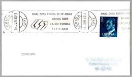 FINAL COPA EUROPA-80 DE AGUAS BRAVAS. Canoa - Canoe. Lerida 1980 - Canoa