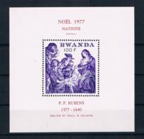 Ruanda 1977 Gemälde Block 83 ** - Ruanda