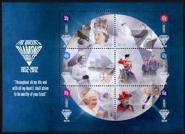 GUERNESEY Bloc Jubilée De Diamant 1952/2012 Neuf ** MNH - Guernsey