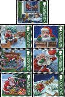GUERNESEY Noël 2013 7v  Neuf ** MNH - Guernsey