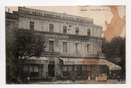 - CPA ALAIS (Alès / 30) - Riche-Hôtel 1914 (avec Personnages) - Edition L. B. - - Alès